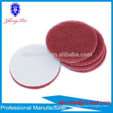 "Red/green/gray 5"" 7447 8698 7447C Adhesive Scouring pad disc"